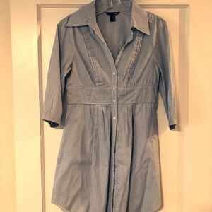 Cotton Shirt-Dress